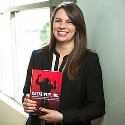 Taryn Elliott, marketing director at Lushin, Inc, on the book Creativity Inc