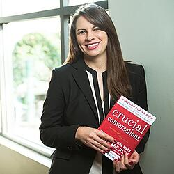 Taryn Elliott, marketing director at Lushin Inc, on the book Crucial Conversations