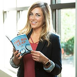 Emily Shaw, sales consultant and trainer at Lushin Inc, on the book The Big Leap