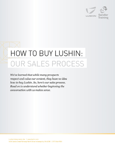 How to Buy Lushin white paper cover