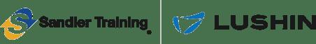 Sandler Training & Lushin logos