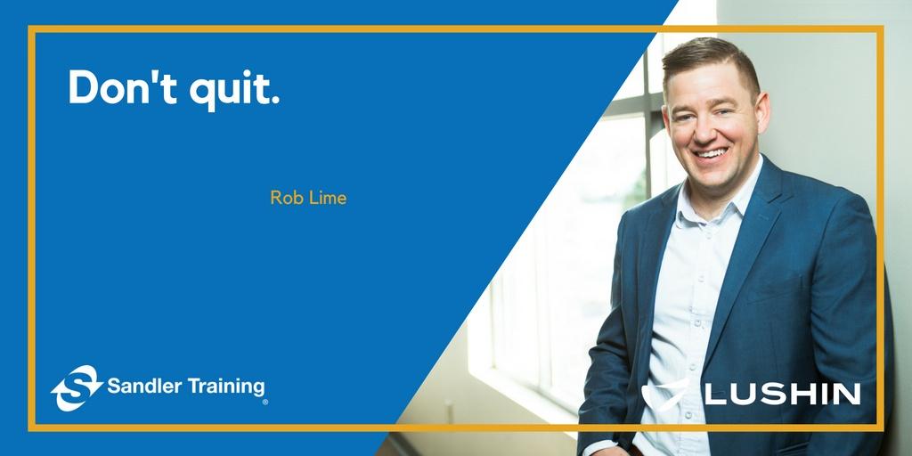 """Best Piece of Advice: """"Don't quit."""""""
