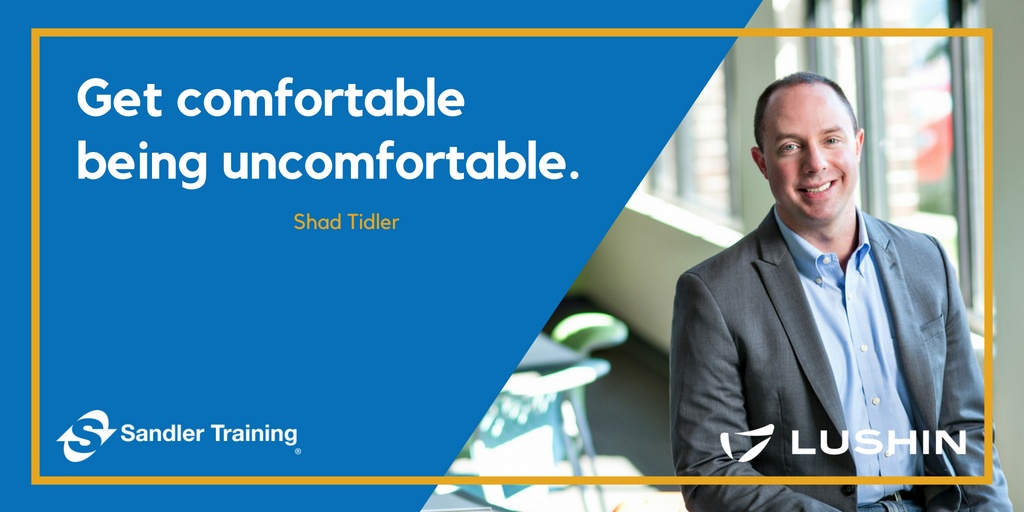 "Best Piece of Advice: ""Get comfortable being uncomfortable."""